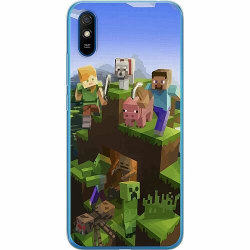 Xiaomi Redmi 9A Thin Case MineCraft
