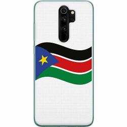 Xiaomi Redmi Note 8 Pro Mjukt skal - Flag Of South Sudan