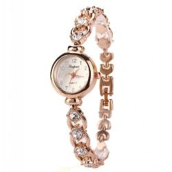 Luxury Rose Diamond Damklocka
