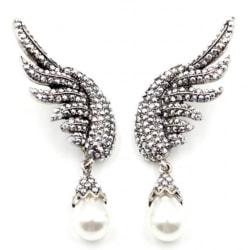 Pearl Angelwing White Örhängen