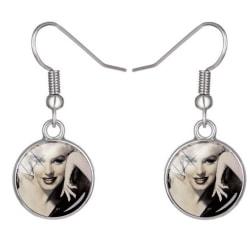 Retro Jewlery  Earings Marilyn Monroe