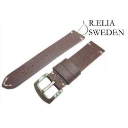 20mm Klockarmband - Vintage läder - Bufalineo