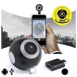 360º kamera för smartphone HD