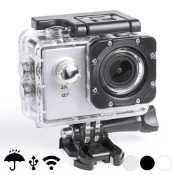 """Sportkamera 4K 2"""" 360º WiFi (16 pcs) White Vit"""