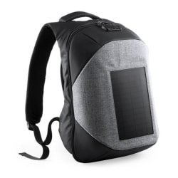 Stöldskydds ryggsäck med USB och fack för surfplatta och dator Svart