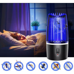 Portabel Myggfångare UV-A-LED 60m2 & Nattlampa