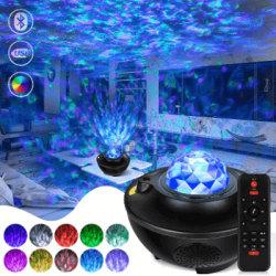 Galaxylampa / Rymdlampa med Bluetooth Högtalare