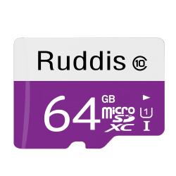Ruddis Micro SDXC Minneskort UHS-I Class 10 64 GB