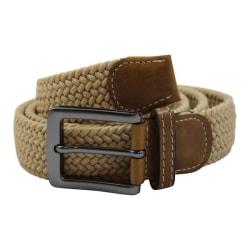 No1Elastiskt bälte / skärp  Beige  - 6 olika längder  Beige Längd: 100 cm  (100-130 cm)