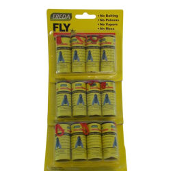 No1  Flugfångare & Myggfångare klister spiral 3X4-pack