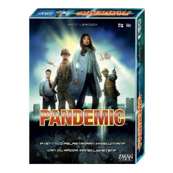 Pandemic (Revised Edition) (Svensk/Finsk) Black