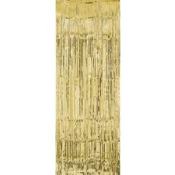 Glitterdraperi , Dörrdraperi - Guld