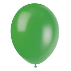 Ballonger i latex 12-pack, Grön