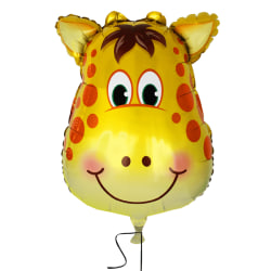 Djur folieballong Giraff