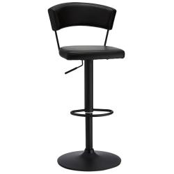 Ibbe Design Bar Chair Preben, Black - Set of 2 Svart