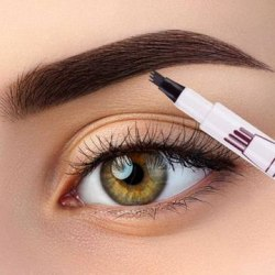 Ögonbrynspenna tatuering brown