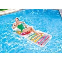Luftfåtöljmadrass hopfällbar fåtölj att simma