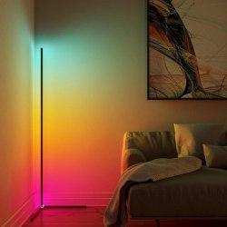 LED Hörnlampa 16 miljoner färger - Golvlampa