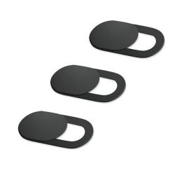 Skydd för webbkamera (3-pack) - Svart Svart