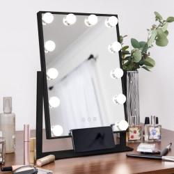 Sminkspegel Pro XL - Makeup Spegel - Svart