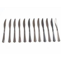 Engångsbestick Kniv Silver 12-pack