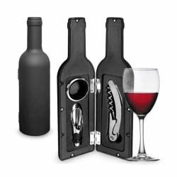 Vinöppnarset i vinflaska
