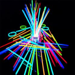 100-pack glowsticks armband, självlysande