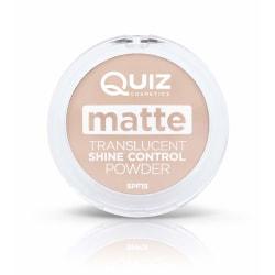 Matte translucent powder - Shine control powder - Quiz Cosmetic Medium
