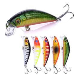 5-pack fiskedrag wobbler