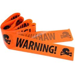 Halloween - Warning tape, Varnings tejp maskerad