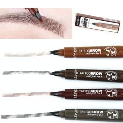Ögonbrynspenna - eyebrow tattoo - micro pen tint Grey brown