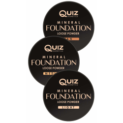 Mineral foundation - Loose power - Quiz Cosmetics Light