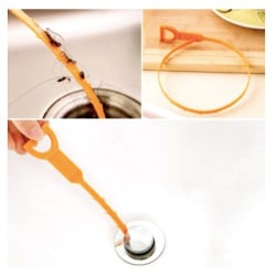 Avlopp rensare / vaskrensare för diskho, badkar, dusch  multifärg