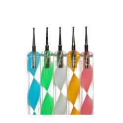 5st dotting tool pennor nagelmanikyr nailart manikyr