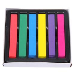 Dip dye hårkritor 6 pack