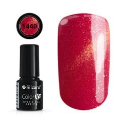 Gellack - Color IT - Premium - Cat Eye - *1440 UV-gel/LED Röd