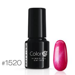 Gellack - Color IT - Premium - Cat Eye - *1520 UV-gel/LED Cerise