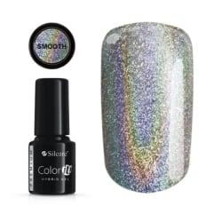 Gellack - Color IT - Premium - Smooth holo UV-gel/LED Silver
