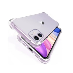 iPhone 12 Mini -  Silikon Shockproof Skal extra stöt tåligt Transparent