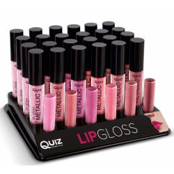 Metallic lipgloss - Läppglans - 6 färger Magnetic fuchsia