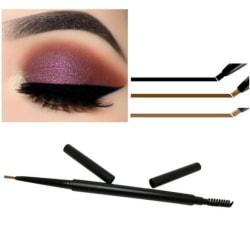 Ögonbrynspenna - Eyebrow pen - 3 färger Dark brown *02