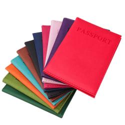 Passport fodral för ditt pass Röd
