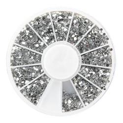Rhinestone silver 1,5mm  Silver