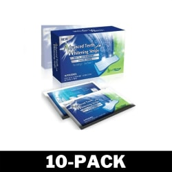 Enkel Tandblekning - Dental 360 Whitening Strips (20 Strips)