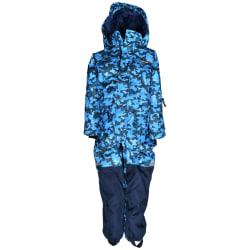 Vinteroverall SNOWTEX Kamouflage Mörkblå 122-128 (6-8 År)