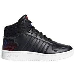 Adidas Hoops Mid 20 K Svarta,Vit 31.5