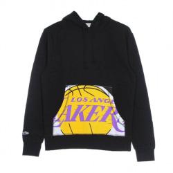 Mitchell & Ness Nba Cropped Logo Los Angeles Lakers Svarta 183 - 187 cm/L