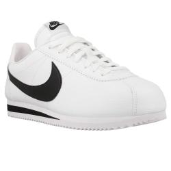 Nike Classic Cortez Leather Vit,Svarta 46