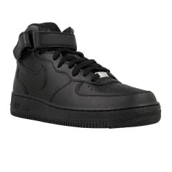 Nike Force 1 Mid 07 Svarta 42.5