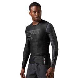 Reebok Rcf LS Compression Shirt Svarta 170 - 175 cm/S